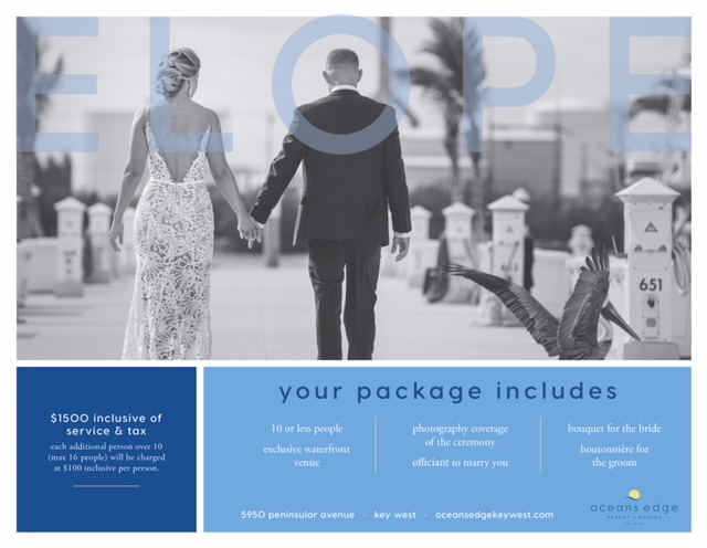 key west elopement package